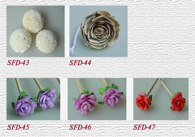 Sola Wood Flower Diffuser Rattan Flower Diffuser