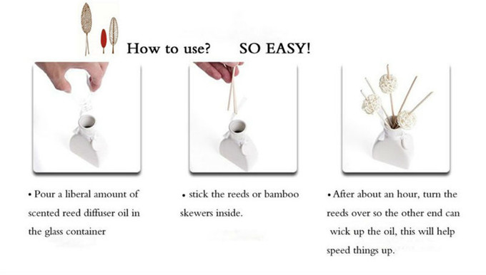 how to use the reed diffuser