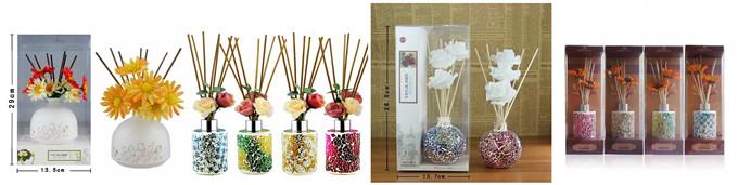 Whole Sets Of Rattan Sticks & Sola Wood Flower 03