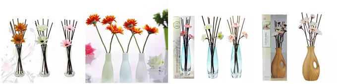 Whole Sets Of Rattan Sticks & Sola Wood Flower 08