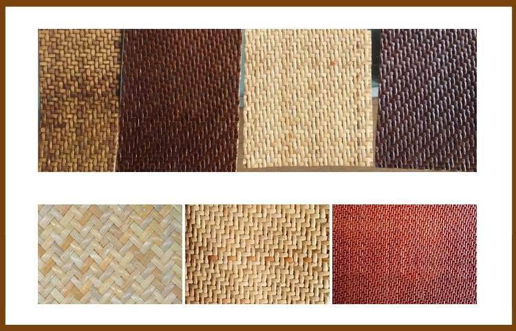 Herringbone panel rattan 01