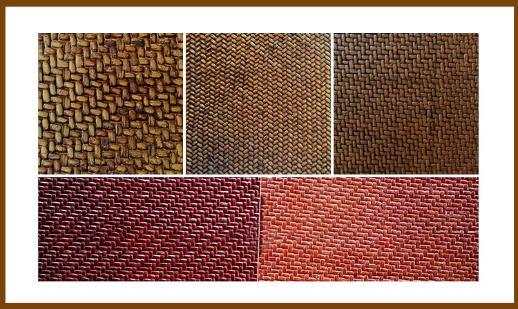 Herringbone panel rattan 02