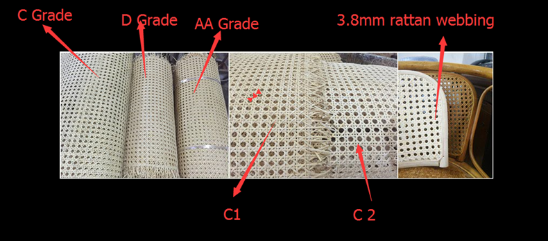 grade of the webbing 2